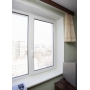 Двухстворчатое окно Grain Prestige 70 мм (Россия) с монтажом   Самара