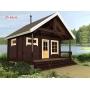Деревянные дома из клееного бруса площадью 35 кв.м Евлашевский ДОК  Самара