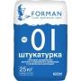 Штукатурка гипсовая суперлёгкая FORMAN №01 Самара