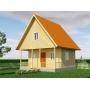 Уютный дачный дом с мансардой. Судай Сруб БД-4 Москва