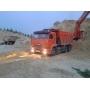 Песок строительный с доставкой от 2 м3   Краснодар