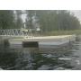 причалы пирсы понтоны на бетонных поплавках  причал пирс понтон на бетонных поплавках 15 на 2,4 Санкт-Петербург