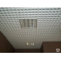 Подвесной потолок Грильято белый/матовый 100*100*27 Хабаровск