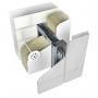 Вентфасад из нержавеющей стали Ньютон Системс для облицовки композитными кассетам Нижний Новгород