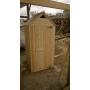 """Туалет Дачный деревянный  """"Простой"""" с крышей двускатной Волжский"""