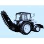 Продам трактор МТЗ 82 с барой (грунторезной установкой) Кемерово