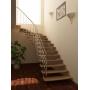 Лестница на больцах  из бука Самара