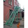 Лестница пожарная металлическая маршевая  П2 Брянск