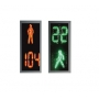 Светофоры светодиодные пешеходные плоские с нанокозырьками  ПП2.2 Нальчик