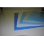Лист Полипропиленовый голубой 8х1500х400мм.  М-ПП-БС Саранск