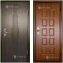 Металлические двери с 2х сторон отделкой МДФ  «ПРЕМИУМ» Новосибирск