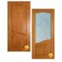 """Межкомнатная филенчатая дверь из массива сосны """"Санталия&am   Йошкар-Ола"""