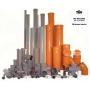 Трубы ПВХ и фитинги ПП для внутренней канализации Ventar диаметры с 50 до 110 Краснодар