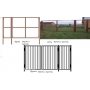 продаем металлические садовые ворота и калитки от производителя   Псков