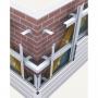 Профиль фасадный. Подсистема вентилируемого фасада   Владивосток