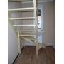 Лестница для дома и дачи на заказ  поворотная из сосны без подступей Калуга