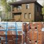 Строящийся кирпичный дом 125 квадратов на 6 сотках   Уфа