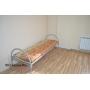 Кровати металлические эконом 1-ярусные для больниц, хостелов   Москва