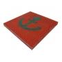 Резиновая плитка 500х500 40мм Детские площадки  РП-Classic 40 Орел
