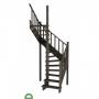 Лестница из дерева  К-015(2-1)-14 Рязань