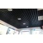 Подвесной потолок Грильято белый/матовый 100*100*40 Хабаровск