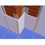 Алюминиевый Омега профиль для стеновых панелей  RAL (9016/9006/1   Екатеринбург
