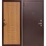 Входная металлическая дверь Gardian (миланский орех)   Челябинск