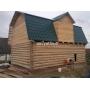 Дом 6х8+мансарда из бревна ручной рубки   Псков