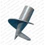 Сваи стальные винтовые c литым наконечником  СВЛ Казахстан