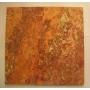 Плиты из красного травертина  Persian Red (Персиан Рэд) 300х300х10 Нальчик