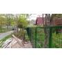 Забор для дачи из сетки гиттер (сварной забор) 550 за м.п.   Санкт-Петербург