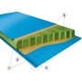 Сэндвич-панели трехслойные стеновые Ecopanel с минватой Ecopanel   Беларусь