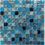 Мозаика стеклянная  Satin Blue Челябинск
