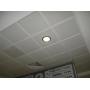 Подвесной потолок кассетный метал. белый размер 595х595 мм. Албес  Уфа