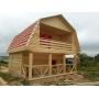 Дачный недорогой Дом из бруса с доставкой,установкой по Беларуси   Беларусь