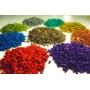 Цветная резиновая крошка (КОР-гранулы) РЕЛИЗ  Набережные Челны