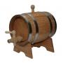 Бочка дубовая на подставке с краном 10 литров   Тюмень