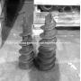 Литой наконечник для винтовых свай из литейной стали  , сталь марок 25Л и 35Л Казахстан