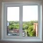 Двухстворчатое окно Grain Lider 58 мм (Россия) с монтажом   Самара