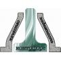 Металлические конструкции. Собственное производство Контрфорс Сахалин Южно-Сахалинск