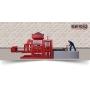 Полуавтоматический вибропресс для изготовления стеновых блоков BESS МАШИНА PRS 400 Астрахань