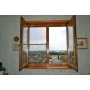 Окна из сосны, лиственницы, дуба  деревянное евроокно Орел