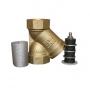 Фильтр магнитомеханический муфтовый ФММ, латунь WEND ФМ-15...50РУ Калуга