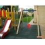 Резиновое покрытие для детских площадок EcoStep 500x500, 40 мм Ростов-на-Дону