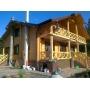 деревянные дома из любого вида бруса Современные деревянные дома комплекты,монтаж Украина
