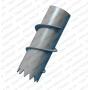 Сваи стальные винтовые c литым наконечником  СВЛЦ, СВЛМ Казахстан