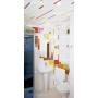 Комплект реечного потолка для ванной CEILIND GROUP 100Р+25Р 141(131) 1,7м*1,7м Москва