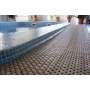 Пластиковое покрытие для мягкого пола в бассейне  сеточка Москва