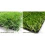 Монофиламентная и фибрилированная искусственная трава   Казахстан