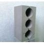 Керамзитобетонный блок стеновой  м50 (390*190*188мм) вес 0.013т Волгоград